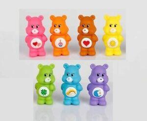 7pc Care Bears Carebears Playset 7 Figure Cake Topper * USA SELLER* Toy Doll Set