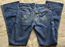 7 FOR ALL MANKIND  BOOT CUT FLARE  WOMENS JEANS   29 x 33