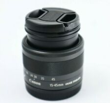 Authentic Canon EF-M 15-45mm f/3.5-6.3 IS STM - Graphite
