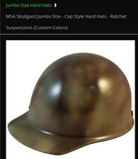 Msa Skullgard Jumbo Size Hard Hat Camouflage with Ratchet Suspension Cap Style