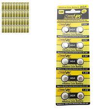 400 pcs AG4 D377 L626 SR66 SR626SW 1.5V Alkaline Button Cell Battery HyperPS