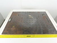 """27-1/2 x 39-1/4"""" Plate Steel 3/4"""" Thick Layout Setup Workholding Jig"""