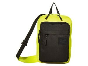 Herschel Supply Co. Form Large Highlighter Neon Yellow Crossbody Shoulder Bag