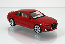 Herpa 023771-002 audi a5 ® ROUGE VIF/Flame Red