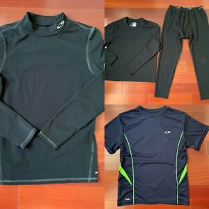 Champion Kids Base Layer Crew and Pant Set, Duo Dry Athletic Cold Gear Shirt etc