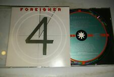Foreigner 4 Target CD  West Germany Pre barcode 1st press