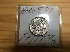"""~(HOBO571)~1936~Hobo Nickel~""""MR. X""""~MAB~Buy It Now~"""