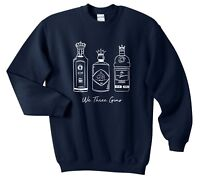 We Three Gins Christmas Sweater Jumper Sweatshirt Xmas Funny Kings Gin Ugly Cute