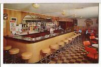 DICK'S SILVER DOLLAR BAR, 1950s Bliss, Idaho Roadside Postcard