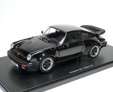 Porsche 911 Turbo 3.3 Typ 930 schwarz black noir nero negro - AUTOart 77981 1:18