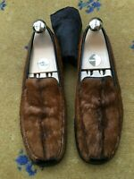 Gucci Womens Brown Pony Hair Shoes Loafers UK 6 US 8 EU 39 Ladies
