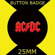 AC-DC - LOGO IMAGE - Button Badge 25mm 1