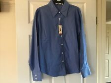 Ladies long sleeve blue shirt by Fruit if the Loom size XL NEW