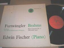 FURTWANGLER BRAHMS PIANO CONCERT No2 UNICORN UNI 102 MONO EDWIN FISCHER PIANO