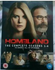 Homeland Season 1 - 4 - a 16 Disc Boxset with all 48 Episodes - Claire Danes