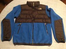 The North Face 550 GOOSE DOWN, Boys/Girl Fleece Jacket Size XL 18-20 Blue/Black