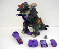 TRANSFORMERS TRYPTICON G1 Vintage Figure Dinosaur WORKS / NEAR COMPLETE 1987