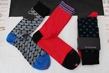 DUCHAMP Designer Sock C477 Asstd Luxury 3pk Smart Cotton Size 7-11 Socks BNIP