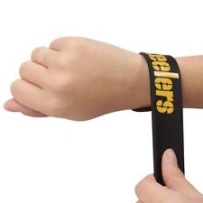 NFL Pittsburgh Steelers Team Slap Band Bracelet Slapperz Football 100% Silicone