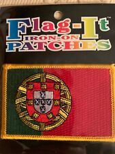 PORTUGAL FPF LOGO FIFA WORLD CUP IRON-ON PATCH CREST BADGE 2.25 X 2.75 INCH