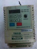 TECO 7200CX series inverter JNTSBDBA0001JK 220V 0.75KW