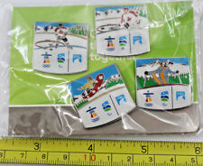4 x 2010 Vancouver Winter Olympics Pin ICBC Hockey Snowboarding Skiing Paralymp