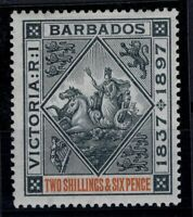 P133369/ BRITISH BARBADOS – SEAL OF COLONY – SG # 124 MINT MH – CV 140 $