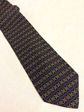 HARMONT & BLAINE cravatta tie original 100% seta silk Made in Italy nuova new