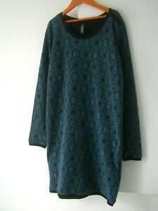 """Lovely BNWOT RAINBOW (Hamburg) Quilted Dress Size UK S/M (32"""" Chest) RRP £79.00"""