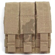 BAE Systems ECLiPSE .45 Cal Triple Magazine MOLLE Pouch - coyote brown USMC