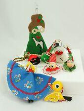 Vintage Handmade Japan China Christmas Ornament Holiday Tree Decoration Lot