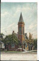 CB-058 AL, Montgomery Central Presbyterian Church Divided Back Postcard