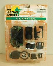 Ultimate Soldier U.S. NAVY SEAL Military Uniform Scuba Diver Playset  #33110 NIP