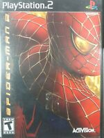 Spider-Man 2 the Movie Black Label Sony Playstation 2 PS2 Complete Clean