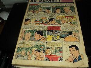 RARE ALBUM INCOMPLET TINTIN (regroupant 10 vol) - 472 PAGES (Mai à juillet 1961)