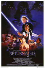 Star Wars Episode VI Return of The Jedi Movie Poster - 24x36