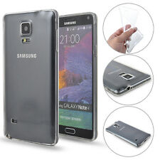 Ultra Thin Soft TPU Gel Transparent Clear Protect Case for Samsung Galaxy Note 4