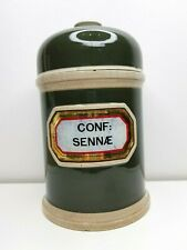seltene alte Apotheker Standgefäß Flasche Apothecary Container Pharmacy Bottle