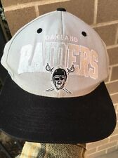 Mitchell & Ness Oakland Raiders Snapback (Black/Gray) NFL Vintage Collection Hat