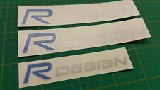 Volvo V40 S60 C30 V70 V50 T5 R Design decals Stickers any colour