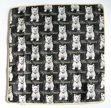 Tapestry Signare Dog Cushion Cover West Highland Terrieror Westie Signare