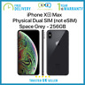 New Apple iPhone Xs Max 256GB 6.5 inch Dual SIM Unlocked - Grey - Apple Warranty