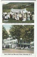 Postcard Coe's Hotel and Mountain Home Windham NY