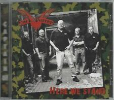 COCK SPARRER - HERE WE STAND - (brand new still sealed cd) - AHOY CD 298