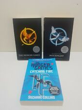 The Hunger Games Book Set Mocking Jay Catching Fire Hunger Games Trilogy