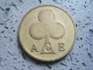 Ace..of Clubs  Token.....06
