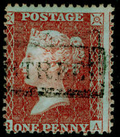 SG SPEC C6(1), 1d red-brown PLATE 16, FINE USED. Cat £35. BA