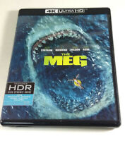 The Meg 4K Ultra HD & Blu-ray w/ Digital Code 2018 Shark Movie Jason Statham