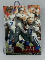 👀1997 Pacific Collection Red Troy Aikman #97 Dallas Cowboys Football Card