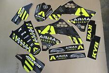 FLU ARMA TEAM  KAWASAKI GRAPHICS & BACKGROUNDS KX450F KXF450  2009 2010 2011